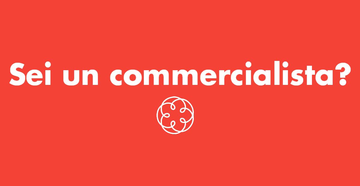 Sei un commercialisti?
