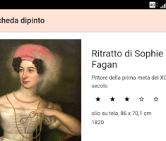 "App ""Donne allo specchio"" – App ""Women in the mirror"""